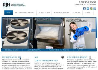 RJH+Air+Conditioning+%26+Refrigeration+Service Website