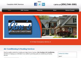 Jim%27s+Heating+%26+Air+Conditioning Website