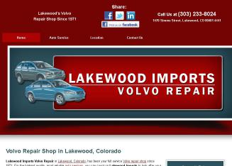 Lakewood+Imports+Volvo+Specialists Website
