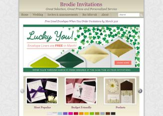 Brodie+Invitations Website