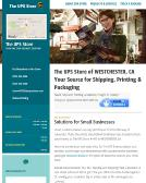 The+Ups+Store Website
