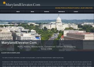 Maryland+Elevator+Services Website