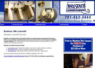 Baystate+Locksmith+Service Website