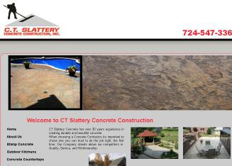 C+T+Slattery+Concrete+%26+Construction Website