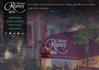 Portland+Regency+Hotel Website