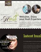 Hush+Salon+%26+Spa Website