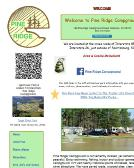 Pine+Ridge+Campground Website