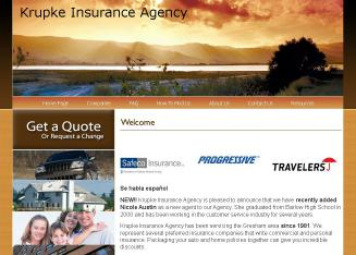 Krupke+Insurance+Agency Website