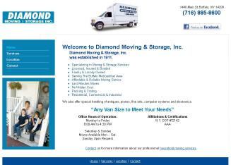 Diamond+Moving+%26+Storage Website
