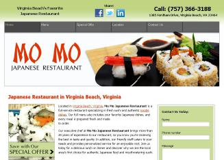 MO+MO+Sushi+%26+Noodle+Japanese+Restaurant Website