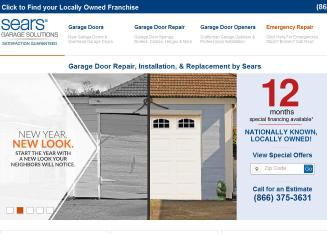 Sears+Garage+Doors+And+Openers Website