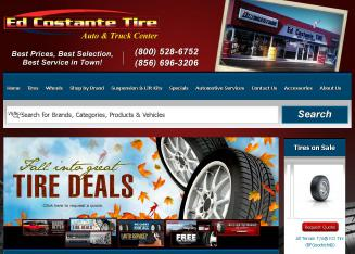 Ed+Costante+Tire Website