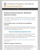 California+Property+Valuations+-+Real+Estate Website
