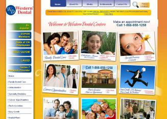 Western+Dental+Centers Website