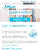 Hillside+Animal+Hospital Website