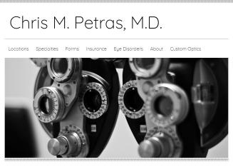 Chris+M+Petras+MD Website