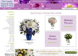 Country+Florist+%26+Gifts Website