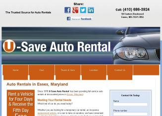 U-Save+Auto+Rental Website