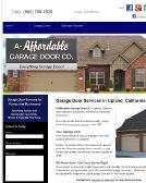 A+Affordable+Garage+Door+CO Website