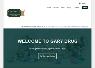 Gary+Drug+Co. Website