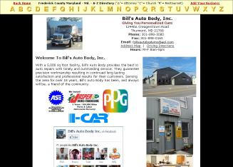 Bill's Auto Body Shop
