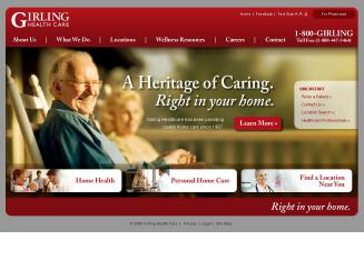 American+Home+Care Website