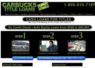 Carbucks+of+Northeast Website