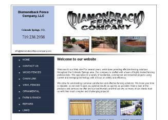 Diamondback+Fence+CO Website