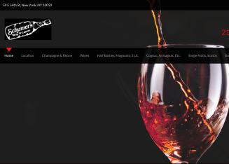 Schumer%27s+Wine+%26+Liquors Website