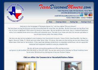 Discount+Movers Website