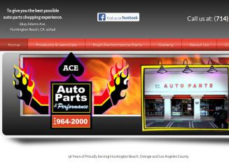 Ace++Auto+Parts Website