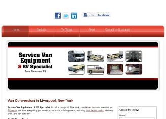 Service+Van+Equipment+%26+RV+Specialist Website