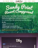 Sandy+Point+Campground Website