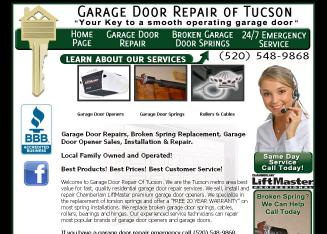 +Garage+Door+Repair+Of+Tucson Website