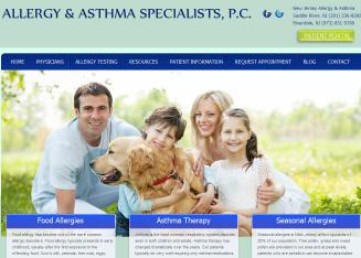 Allergy+%26+Asthma+Specialists+PC Website