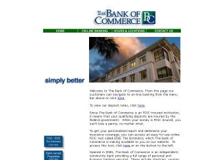 The+Bank+Of+Commerce Website