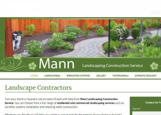 Mann+Landscaping+Construction+Services+LLC Website