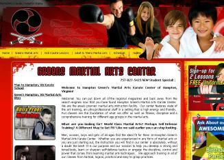 Green%27s+Martial+Arts+Center Website