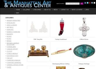 Manhattan+ART+%26+Antiques+Center Website