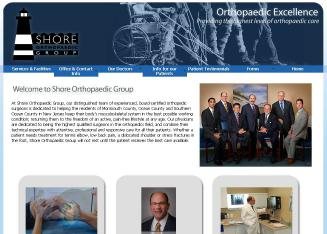 Shore+Orthopaedic+Group Website