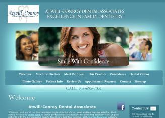 Atwill+Conroy+Dental+Associates+Dentist Website