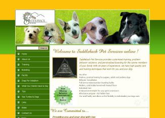 Saddleback Pet Services