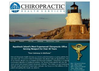 Chiropractic+Health+Services Website