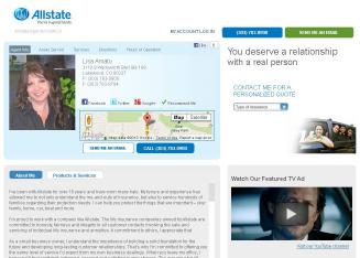 Allstate+Insurance+Company+-+Lisa+Amato Website