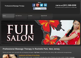 Fuji+Salon Website
