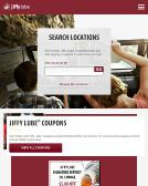 Jiffy+Lube Website