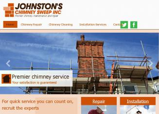 Johnston%27s+Chimney+Sweep+Inc. Website