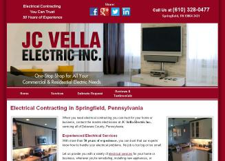 JC Vella Electrical Contractors in Springfield, PA