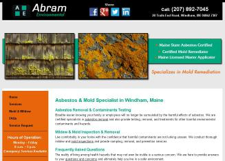 Abram+Environmental Website