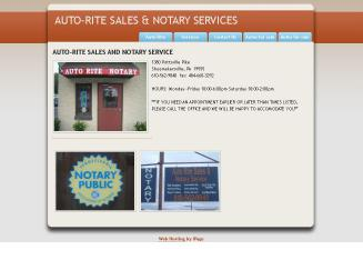 Auto-Rite+Sales+and+Notary+Service Website